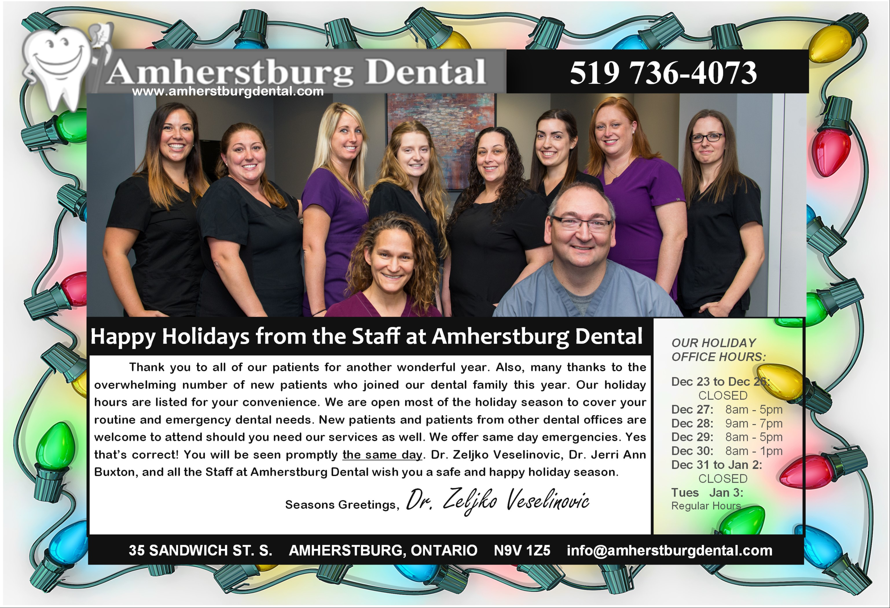 amherstburg-dental-holiday-hours-family-and-cosmetic-dentistry-amherstburg-ontario-windsor-ontario-essex-county-2016
